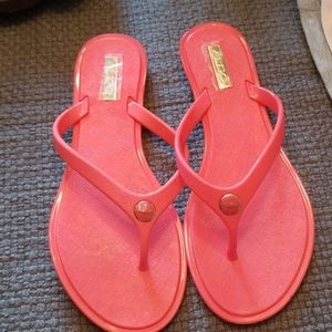 Aldo corral flip flops new with tags 7.5